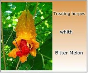 How to cure herpes naturally forever using Bitter Melon?