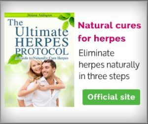 Topical genital herpes treatment using ointment