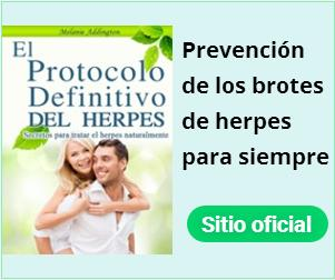 Tratamiento alternativo - brotes de herpes